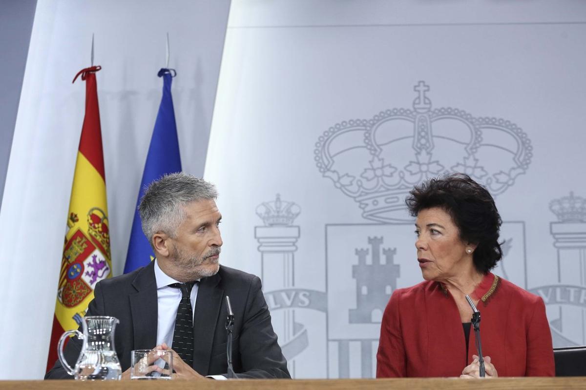 El Govern demana a Iglesias que no s'alineï amb «les tres dretes»