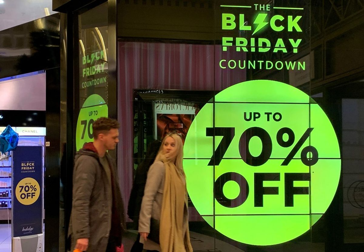 Ofertas Black Friday en Manchester.