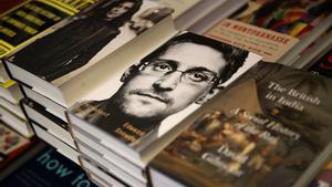 Ejemplares del libro de Snowden en una librería de San Francisco.