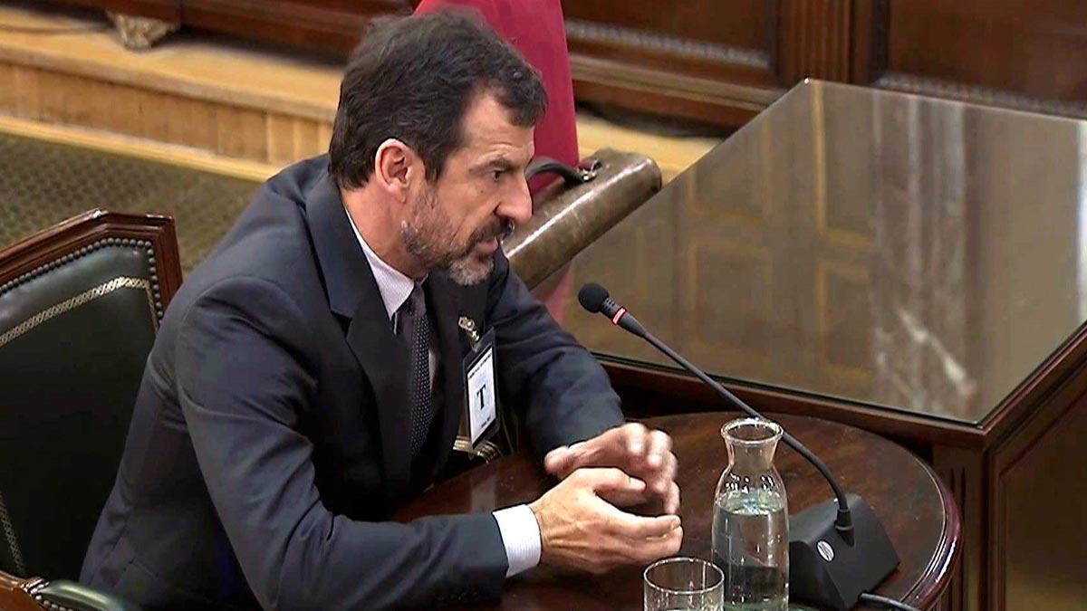 Ferran López: Puigdemont dijo que proclamaría la DUI si había incidentes el 1-O.