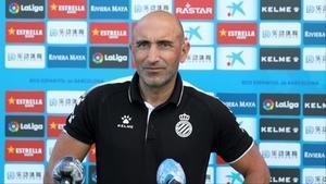 Abelardo Fernández, técnico del Espanyol.