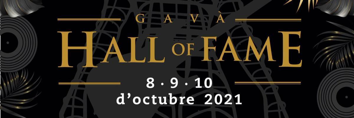 Cartel del Gavà Hall Of Fame, el Salón de la Fama de Bandas Tributo y Versiones de Catalunya