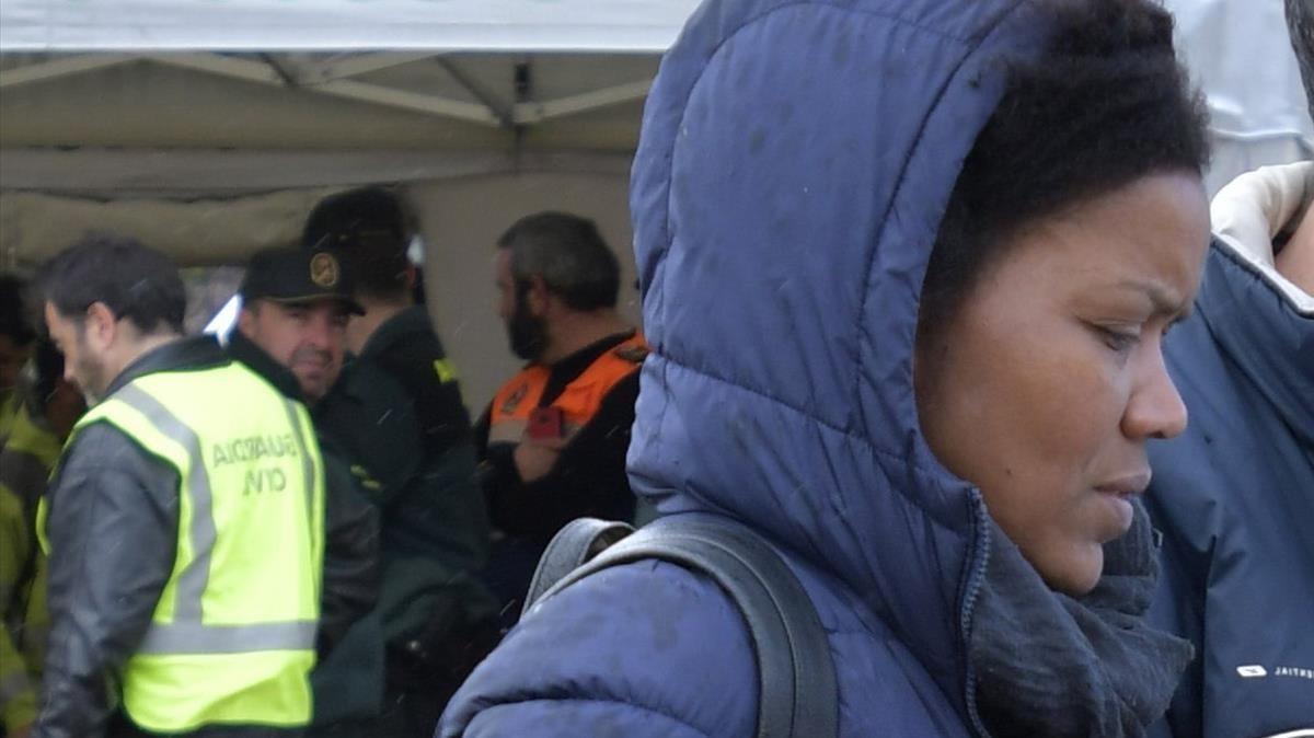 Ana Julia Quezada, antes de ser detenida por el crimen de Gabriel.