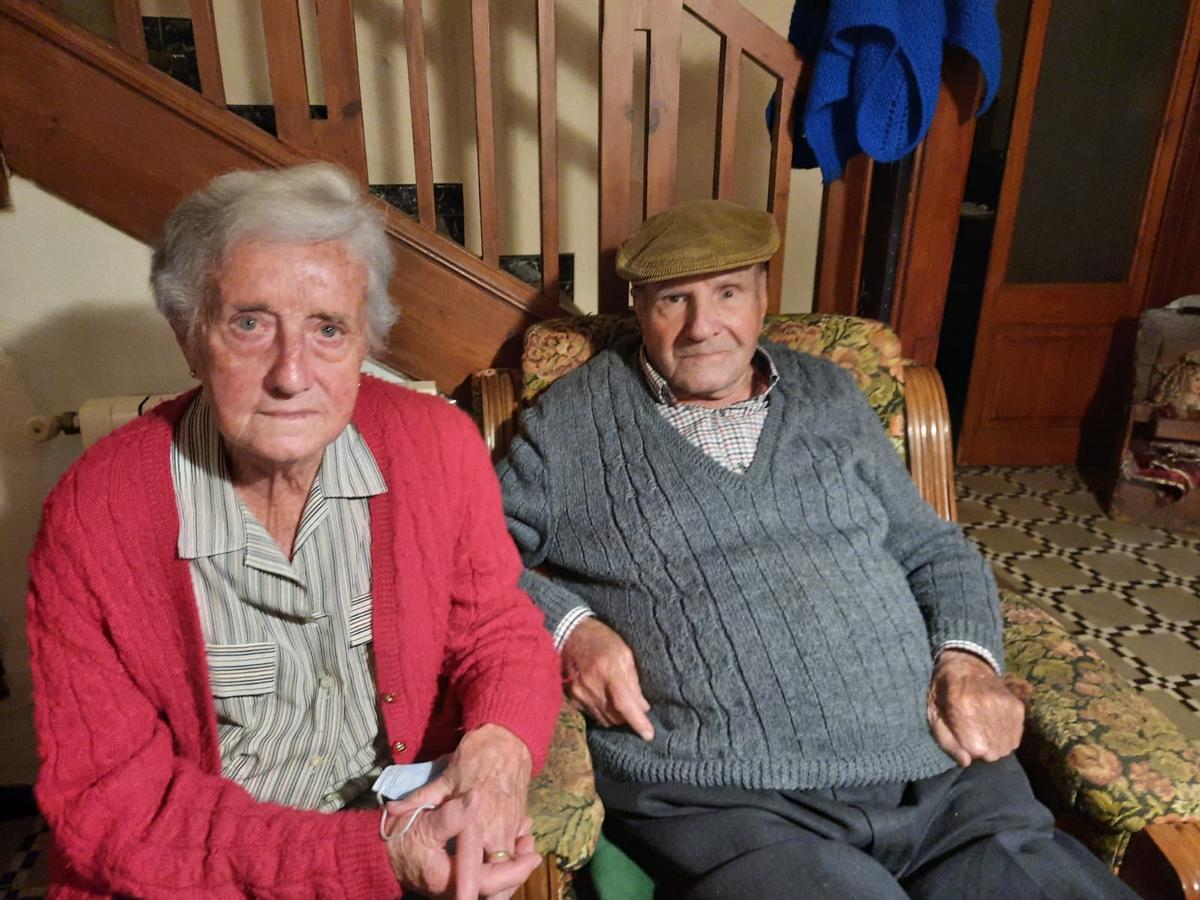 Mercè Font y Joan Planes, en su casa de Cabrils.