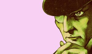 Ilustración del detective Arsenio Lupin.