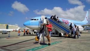 Los primeros turistas alemanes llegan a Baleares en junio del año pasado, con el inicio del plan piloto para la reapertura del turismo.