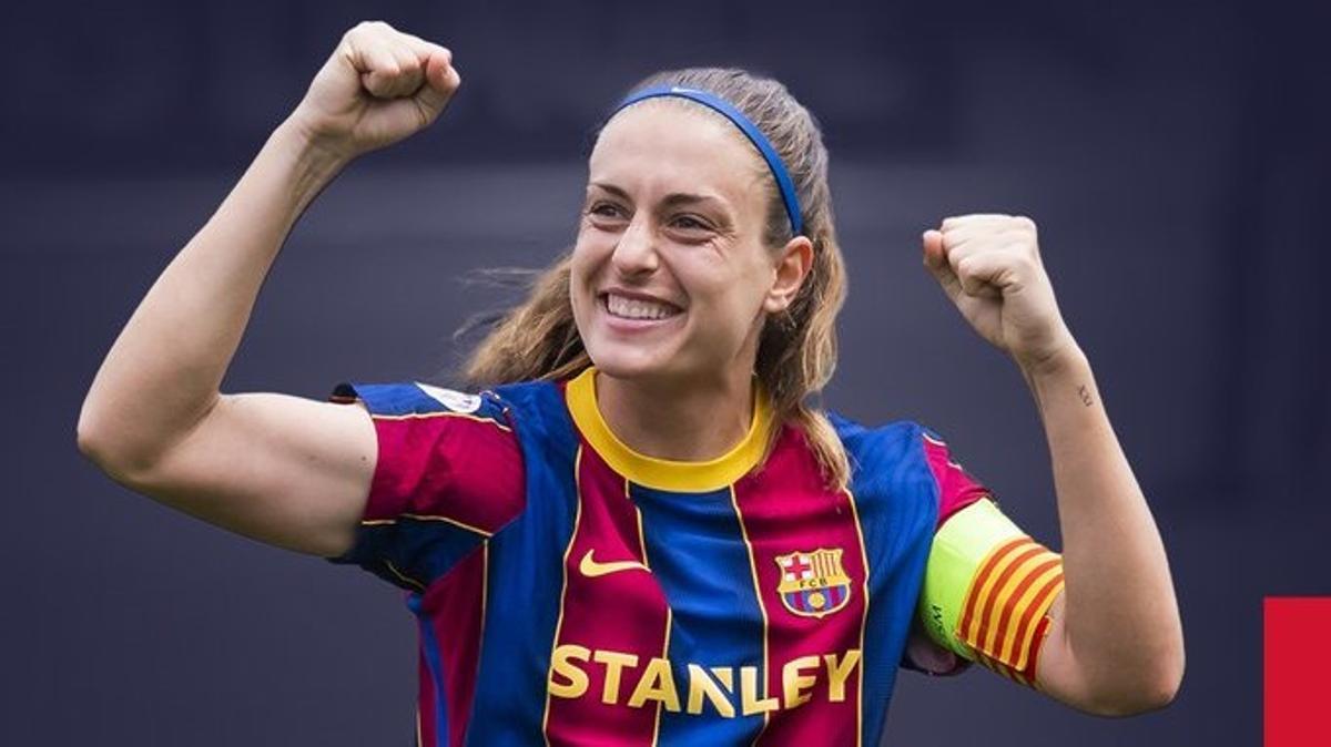 Alexia Putellas, elegida mejor jugadora del año para la UEFA.