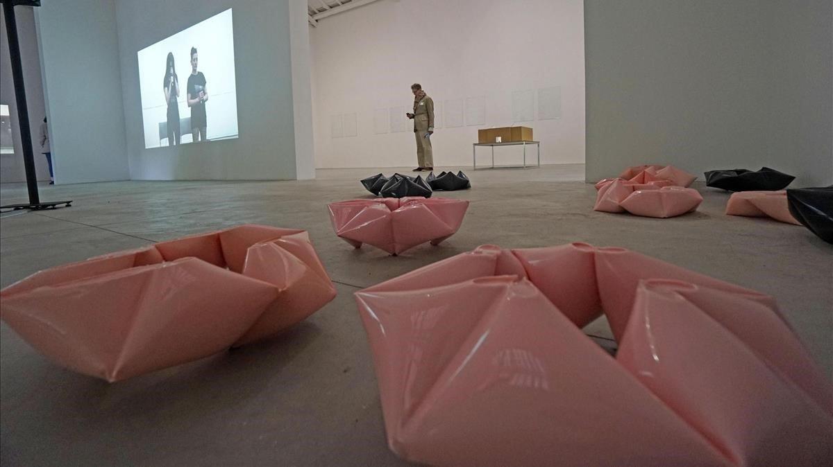 Vista del Pabellón Español en la Bienal de Venecia