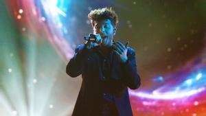 Blas Cantó, en un momento de 'Destino Eurovisión'