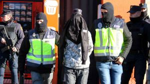 Operació realitzada a Figueres, on s'han detingut dues persones.