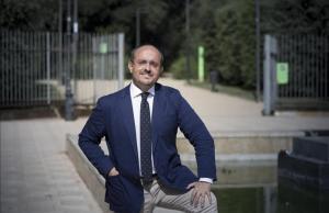 El líder del PP en Catalunya, Alejandro Fernández, posa para EL PERIÓDICO.