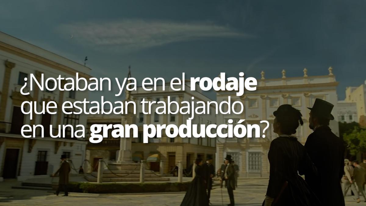 Juana Acosta contesta: ¿Notaban ya en el rodaje que estaban trabajando en una gran producción?