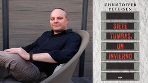 Christopher Petersen, autor de 'Siete tumbas, un invierno'.