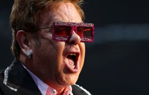 Elton John, durante un concierto en Suiza, el pasado mes de junio.