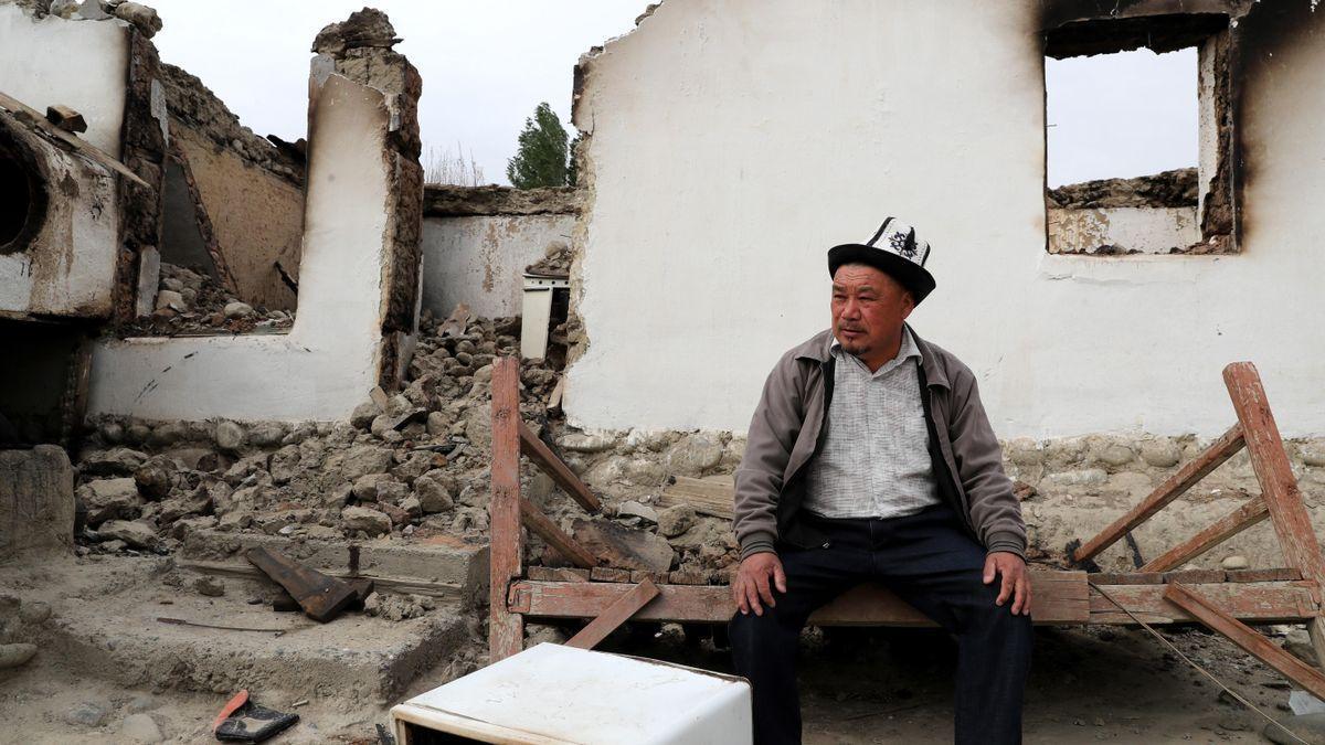 Efectos del conflicto en la frontera entre Kirguistán y Tayikistán.