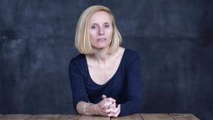 La escritora Mònica Batet.
