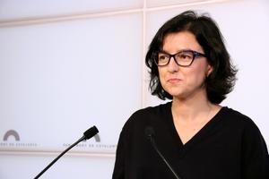 La número 2 delPSC,Eva Granados, se ha mostrado partidaria de apoyar unacandidatura de Ciutadans par presidir la Mesa del Parlament.