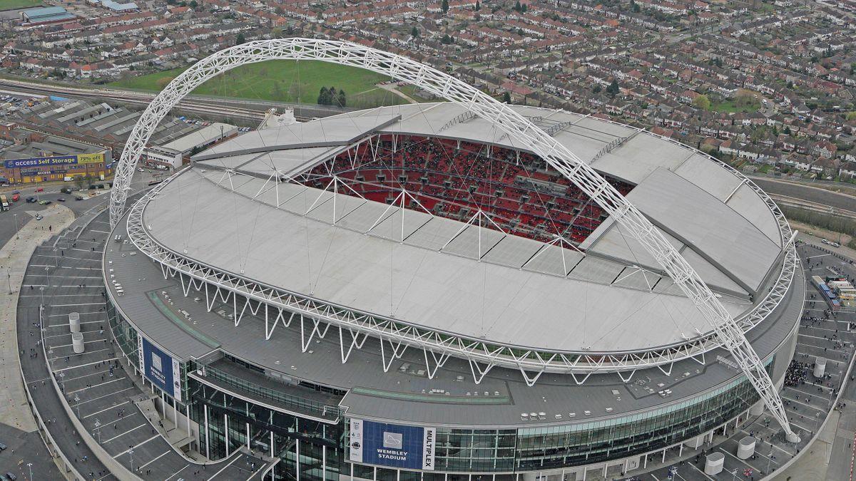 El estadio londinense de Wembley acogerá la gran final de la Eurocopa 2021.