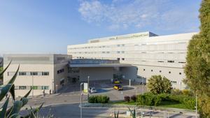 Exteriores del Hospital Esperit Sant de Santa Coloma de Gramenet.