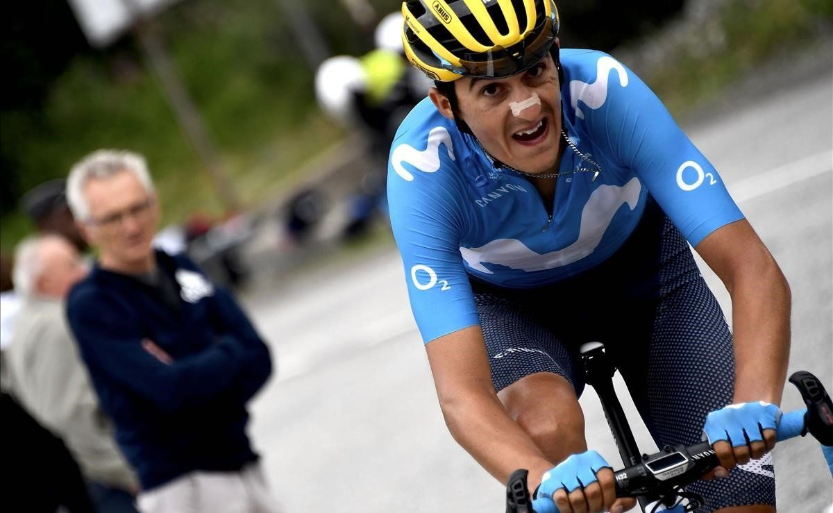 Marc Soler, en el Tour del 2019.