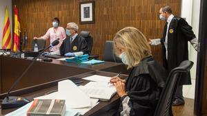 Desarrollo de un juicio rápido en la Ciutat de la Justícia.