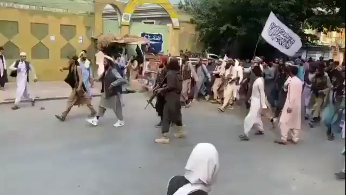 Toma de Mazar i Sharif por los talibanes 14 agosto 2021