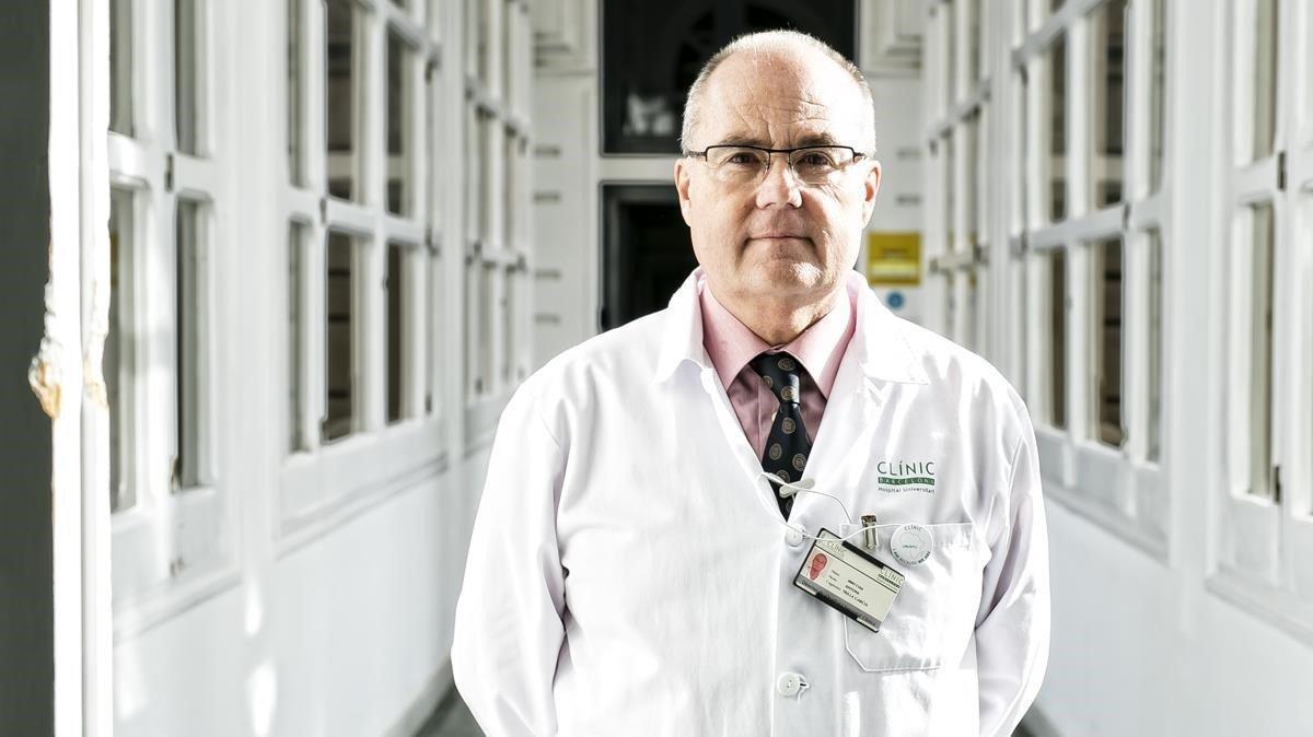 El jefe de Epidemiología del Clínic, Antoni Trilla.