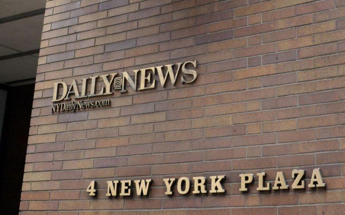 Fachada de las oficinas delDaily News de Nueva York.
