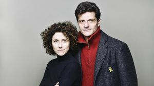Anna Sahun y Joel Joan.