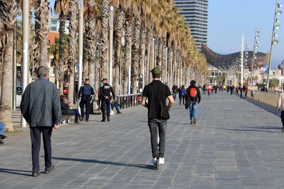 El paseo Marítim de la Barceloneta, en una imagen de archivo.