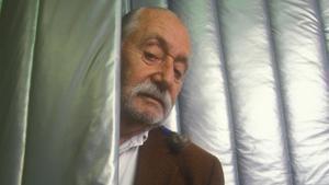 Ettore Sottsass, en 1999, ocho años antes de su muerte.
