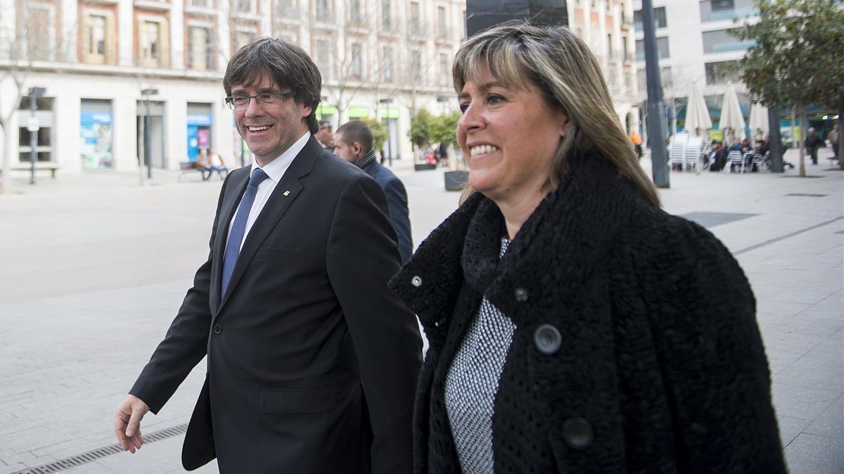 Núria Marín afirma que a Puigdemont se le aseguró que si convocaba elecciones no se aplicaría el 155.