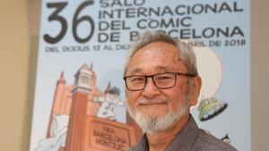 El dibujante Stan Sakai, en el Salón del Cómic.