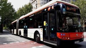 Un autobús de TMB en una imagen de archivo.