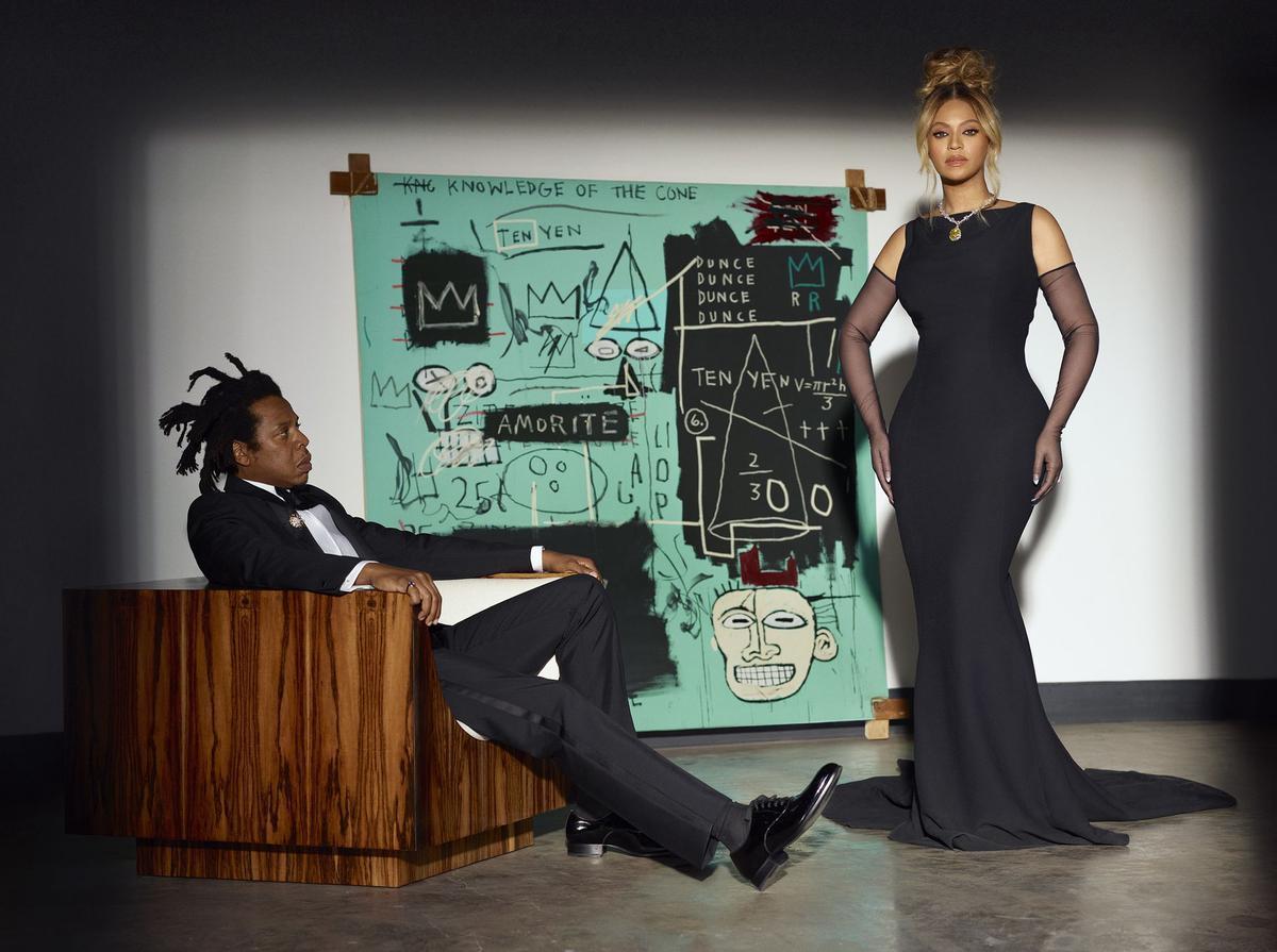Imagen de la nueva campaña de Tiffany's & Co, con Beyoncé y su marido Jay-Z