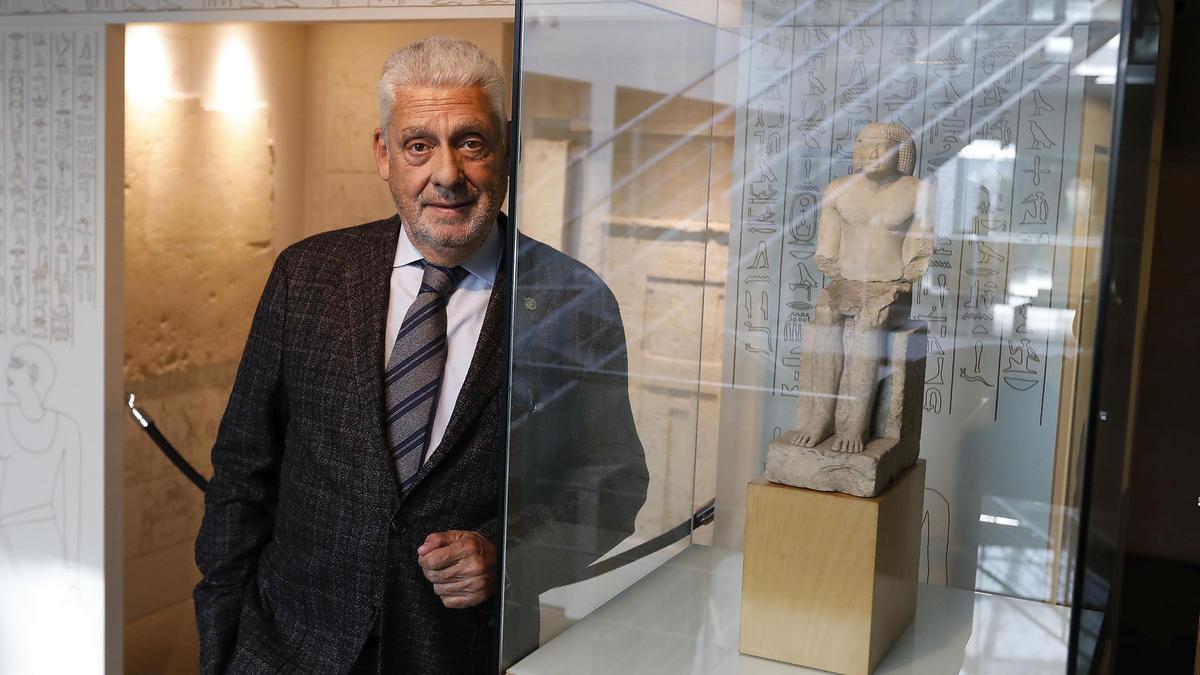 Jordi Clos, presidente de la cadena Derby Hotels Collection y fundador del Museu Egipci.