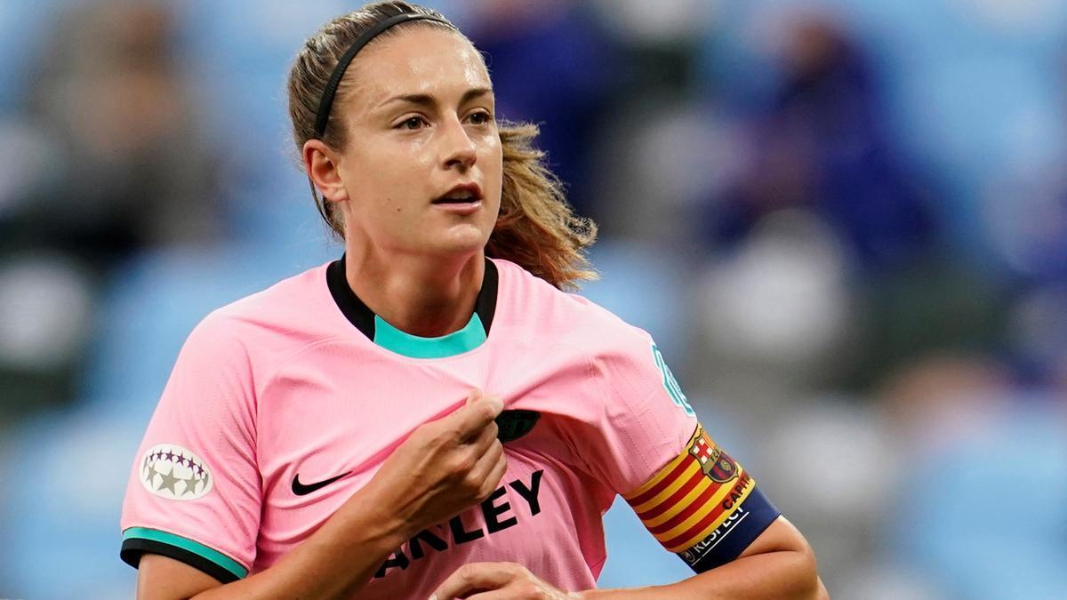 Alexia celebra su gol de penalti en la final ante el Chelsea.