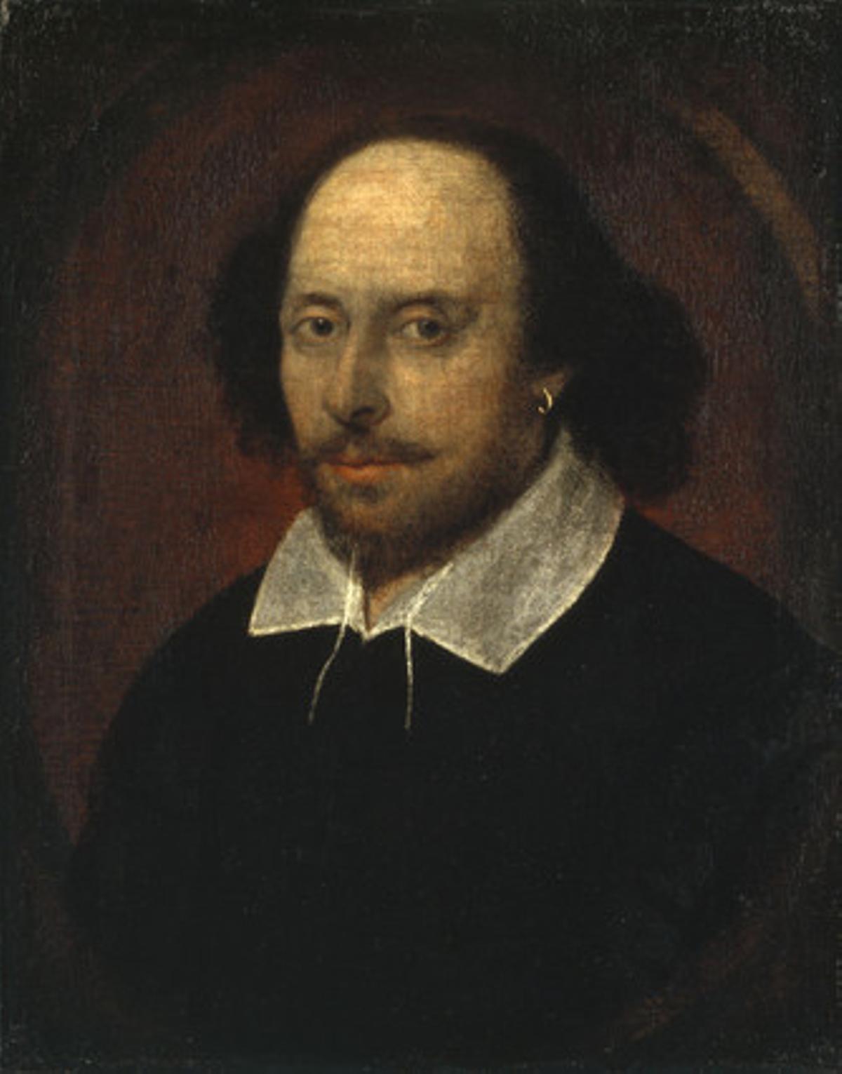 Uno de los retratos del autor de 'Romeo y Julieta' más difundido hasta ahora.