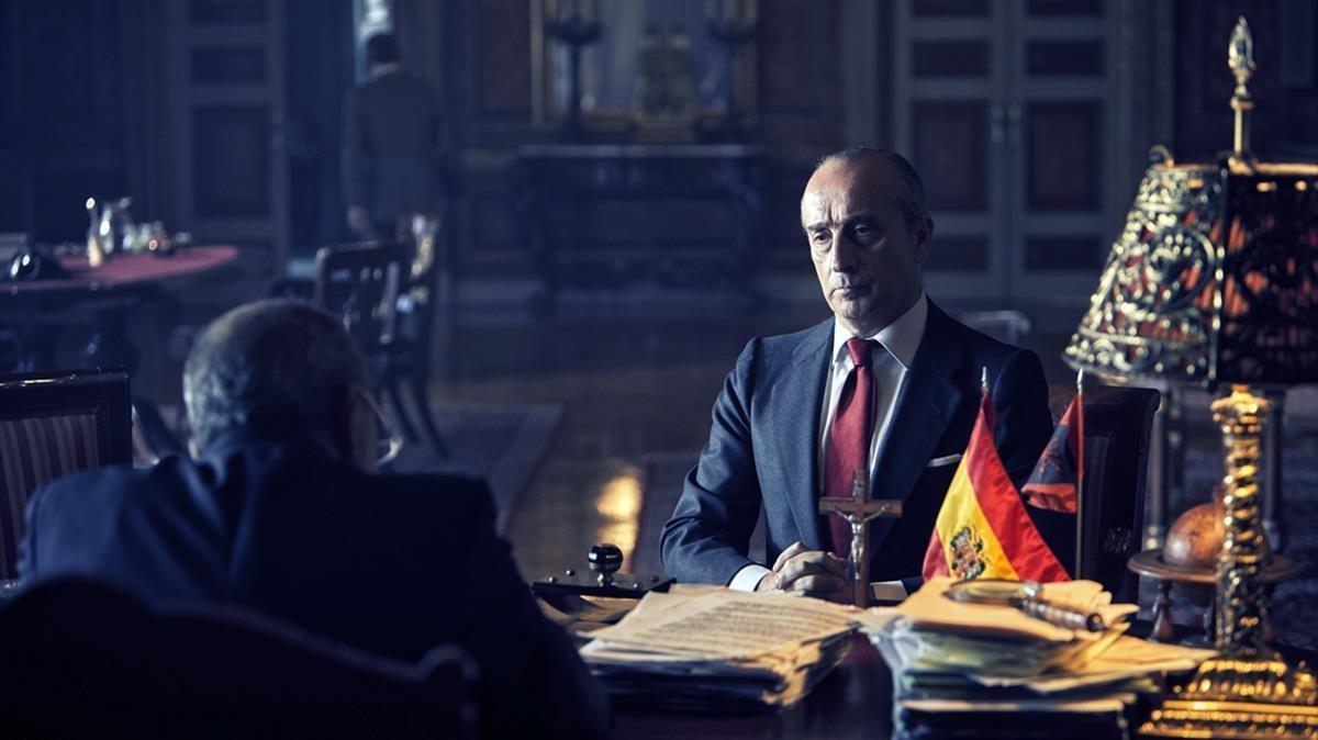 Gonzalo de Castro, en el telefilme de TVE 'De la ley a la ley'.