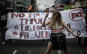 Protestas sociales en Costa Rica.