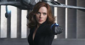 Scarlett Johansson, en una imagen de 'Viuda Negra'.