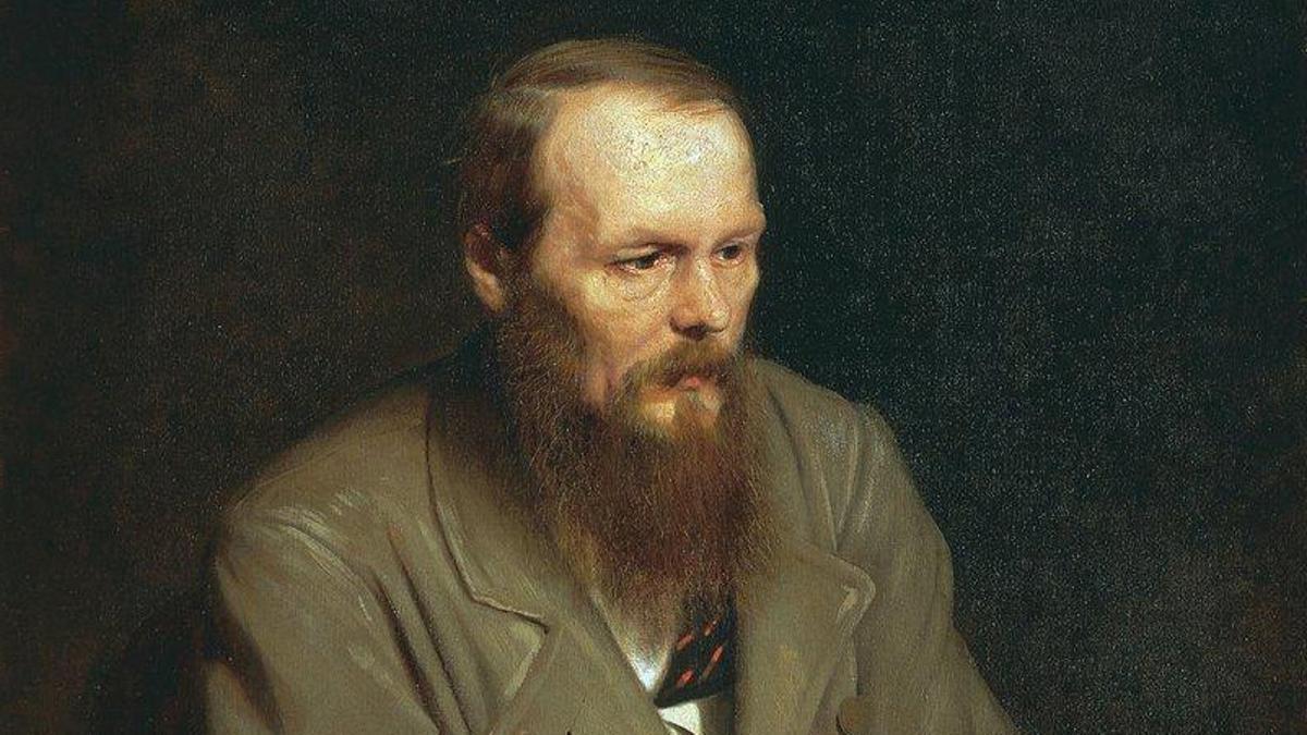 El escritor ruso Fiódor Dostoieski.