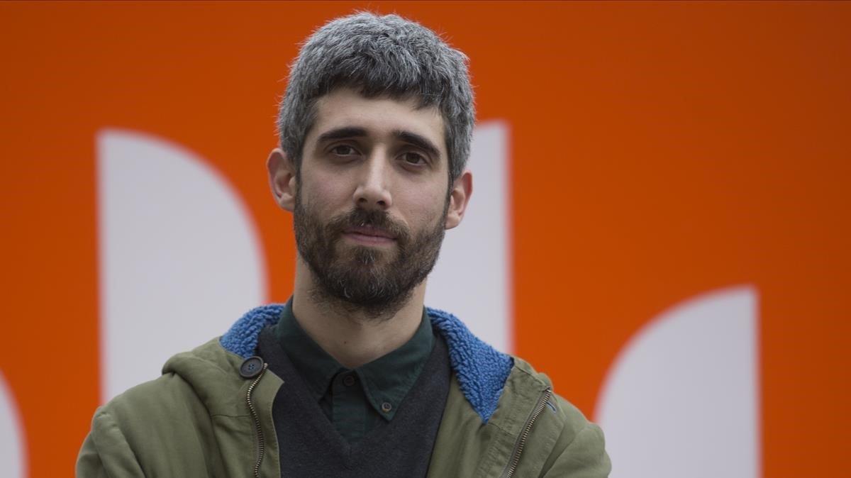 El escritor Víctor García Tur, premio Mercè Rodoreda.