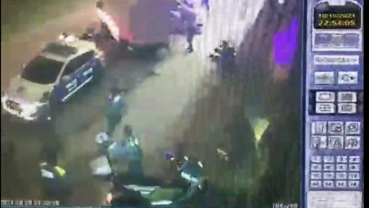 Dos policías locales de Sabadell heridos al abortar un robo en empresa.
