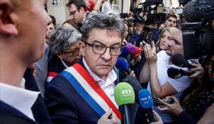Mélenchon, condemnat a tres mesos de presó