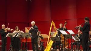 Il Giardino Armonico, durante el recital de este lunes en el Festival de Torroella.