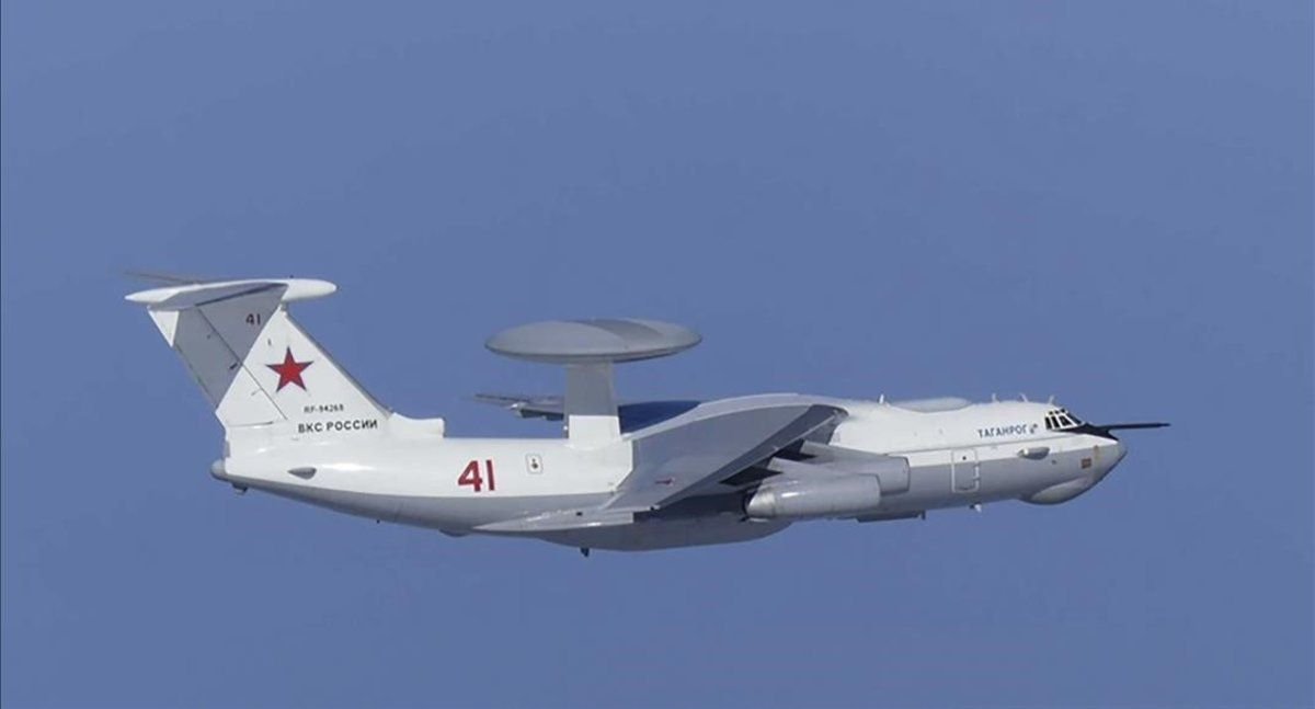 Avión ruso que violó el espacio aérero surcoreano.