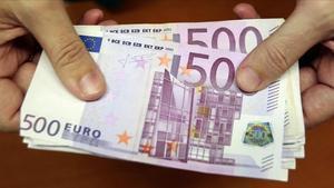 Los billetes de 500 euros desaparecerán