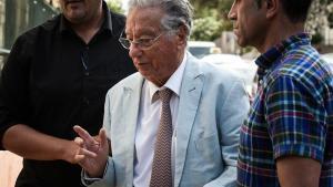 Juan Padrón, en el momento de ser detenido el pasado 18 de julio.