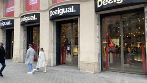 Tienda de Desigual en Barcelona.